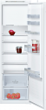 Neff KI2822SF0G Tall integrated fridge with freezer compartment - slide hinge
