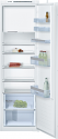 Bosch KIL82VS30G tall integrated fridge with ice box and sliding hinge