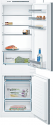 Bosch KIV86VS30G Integrated fridge freezer with slide hinge