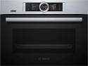 Bosch CSG656BS7B Compact oven with Steam Function