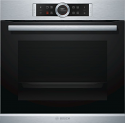 Bosch HRG635BS1B Single Oven with Added Steam