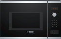 Bosch BFL553MS0B 38cm high Built In Microwave in Stainless Steel