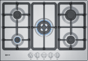 Neff T27BB59N0 75cm wide 5 burner gas hob