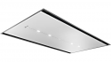 Neff I95CBS8W0B 90cm Flush Design White Glass Ceiling Hood