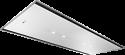 Neff I25CBS8W0B 120cm wide flush design white glass ceiling hood