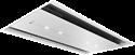 Neff I97CPS8W5B 90cm wide flush fit white glass ceiling hood