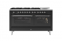 ILVE Milano P15FSNE3 150cm cooker 90cm + 60cm ovens and 6 gas burner top & Coup de Feu