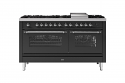 ILVE Milano P15FNE3 150cm cooker 90cm + 60cm ovens and 7 gas burner top & Fry Top