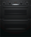 Bosch NBS533BB0B Double Built Under Oven in Black