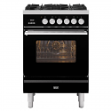 ILVE Roma P06WE3 Ilve 60cm cooker with single 60cm oven and 4 gas burners