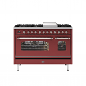 ILVE Milano P12FNE3 120cm cooker 90cm + 30cm ovens and 6 gas burner top & Fry Top