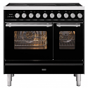 ILVE Roma PDI09WE3 Ilve 90cm cooker with 60cm + 30cm ovens and 5 zone Induction