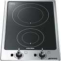 "Smeg PGF32I-1 31cm ""Domino"" Ultra Low Profile Induction Hob"
