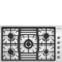"Smeg PGF95-4 87CM ""Classic"" Ultra Low Profile Gas Hob"