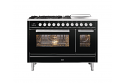 ILVE Roma P12SWE3 120cm cooker with 90cm + 30cm ovens with 5 gas burners and Coup de Feu