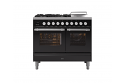 ILVE Roma PD10SWE3 100cm cooker with 60cm + 40cm ovens with 4 gas burner top and Coup de Feu