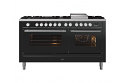 ILVE Roma P15FWE3 150cm cooker with 90cm + 60cm ovens with 7 gas burners and Fry Top