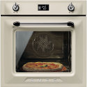 "Smeg SF6922PPZE1 ""Victoria"" Traditional Multifunction oven, Cream"