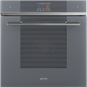 "Smeg SFP6104WTPS ""Linea"" Pyrolytic Multifunction oven, Silver Glass"