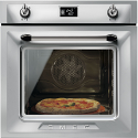 "Smeg SFP6925XPZE1 ""Victoria"" Traditional Pyrolytic Multifunction oven with Soft Close Door, Stainless Steel"