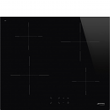 Smeg SI2641D 60cm Touch Control Induction Hob with Straight Edge Glass