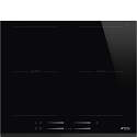 Smeg SI2M7643B 60cm Intuitive Slider Touch Control MultiZone Induction Hob