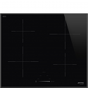 Smeg SI4642B 60cm Touch control Induction hob with Angled edge glass and compact slider