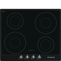 Smeg SI964NM 60cm 'Victoria' Induction hob with Black Frame