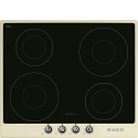 Smeg SI964PM 60cm 'Victoria' Induction hob with Cream Frame