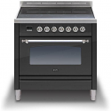 ILVE Milano PI09NE3 90cm cooker single 90cm oven and 5 Zone Induction Top