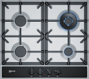 Neff T26DA59N0 4 Burner gas hob in Stainless Steel