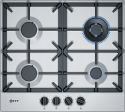 Neff T26DS59N0 4 Burner Stainless Steel Gas Hob