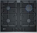 Neff T26TA49N0 60cm wide Black Ceramic Gas Hob