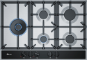 Neff T27DA79N0 75cm Wide 5 Burner Gas Hob in Stainless Steel