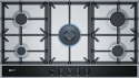 Neff T29DA69N0 90cm Wide 5 Burner Gas Hob in Stainless Steel