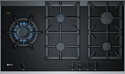Neff T29TA79N0 90cm Wide Black Ceramic 5 burner gas hob