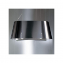 Elica Tandem Decorative Ceiling Mounted Hood in Stainless Steel