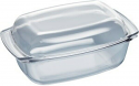 Neff Z11GT10X3 5.4L capacity oval glass casserole dish with lid