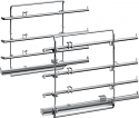 Neff Z11TC16X0 Shelf supports and single level ComfortFlex telescopic rail set