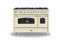 ILVE Milano P128NE3 120cm cooker 90cm + 30cm ovens and 8 gas burner top