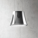Elica BELLE-HM Decorative Ceiling or Wall mounted Cooker Hood in Heavy Metal