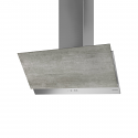 Faber GREXIA GRES LG/X A90 90cm wide cooker hood with light Grey Stoneware finish