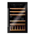 CDA FWV902BL Built in wine cooler with dual temperature zones