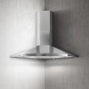 Elica ACUTA 100cm x 100cm Corner Chimney hood in Stainless Steel
