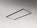 Elica ILLUSION30-CS 100cm ceiling hood with custom drywall panel - 30cm deep version