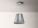 Elica JUNO-URB-ZC Ceiling Mounted Island Hood in Zinc effect finish