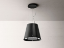 Elica JUNO-URB-IRON Ceiling Mounted Island Hood in cast iron effect finish