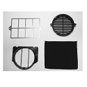 Elica KIT0037910 Charcoal Recirculation Filter