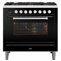 ILVE Roma P096WE3 90cm cooker with single 90cm oven and 6 gas burner top