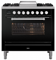 ILVE Roma P09FWE3 90cm cooker with single 90cm oven and 4 gas burners and Fry Top